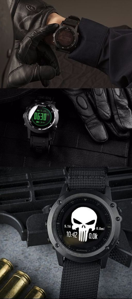 Garmin Tactix Bravo, Black with Nylon Strap EDC tactical watch for