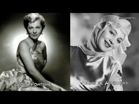 Hollywood Legends - Sisters Olivia DE HAVILLAND and Joan FONTAINE - Sorry the hardest word