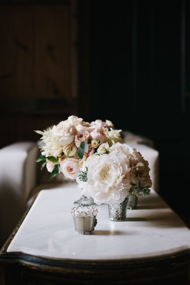 Wedding bouquets not flowers  Gorgeous but preferably not with those silver containers  Wedding