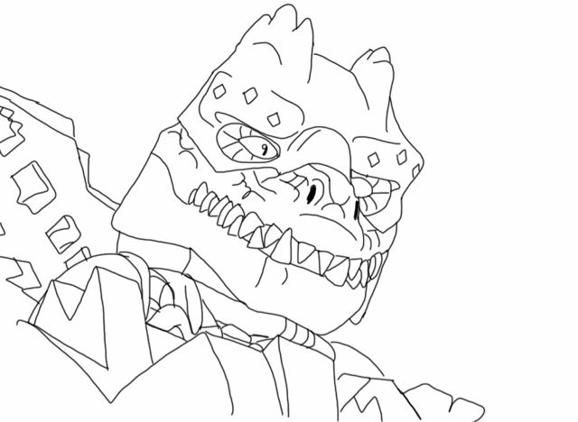 free lego coloring page coloring pages - Lego Chima Coloring Pages Cragger