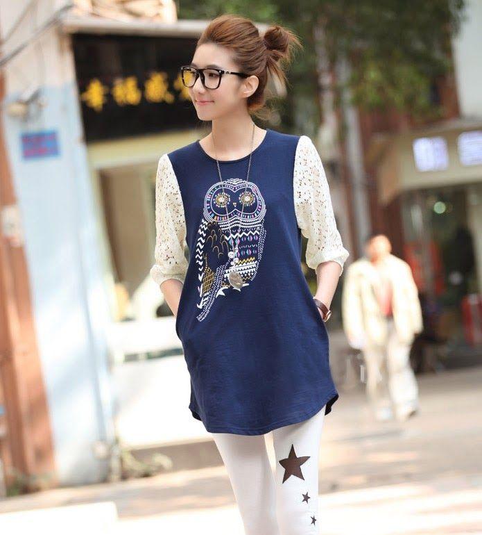 vestidos coreanos juveniles - Buscar con Google Blusa Coreana bee43372985