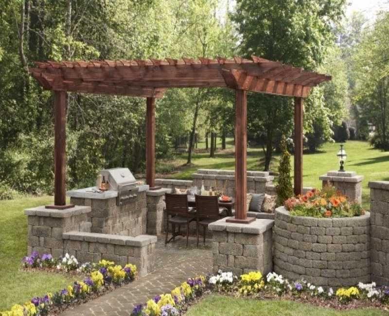 Steinmauer Garten Sichtschutz Gartendekorationen Gartens Max New