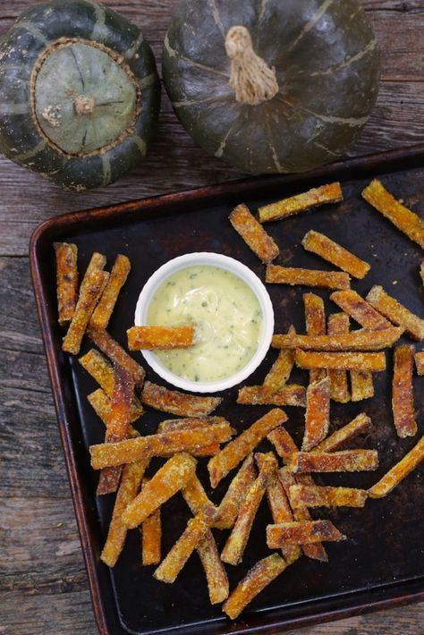 Sweet Potato Fry Lovers Will Devour These Buttercup Squash Fries
