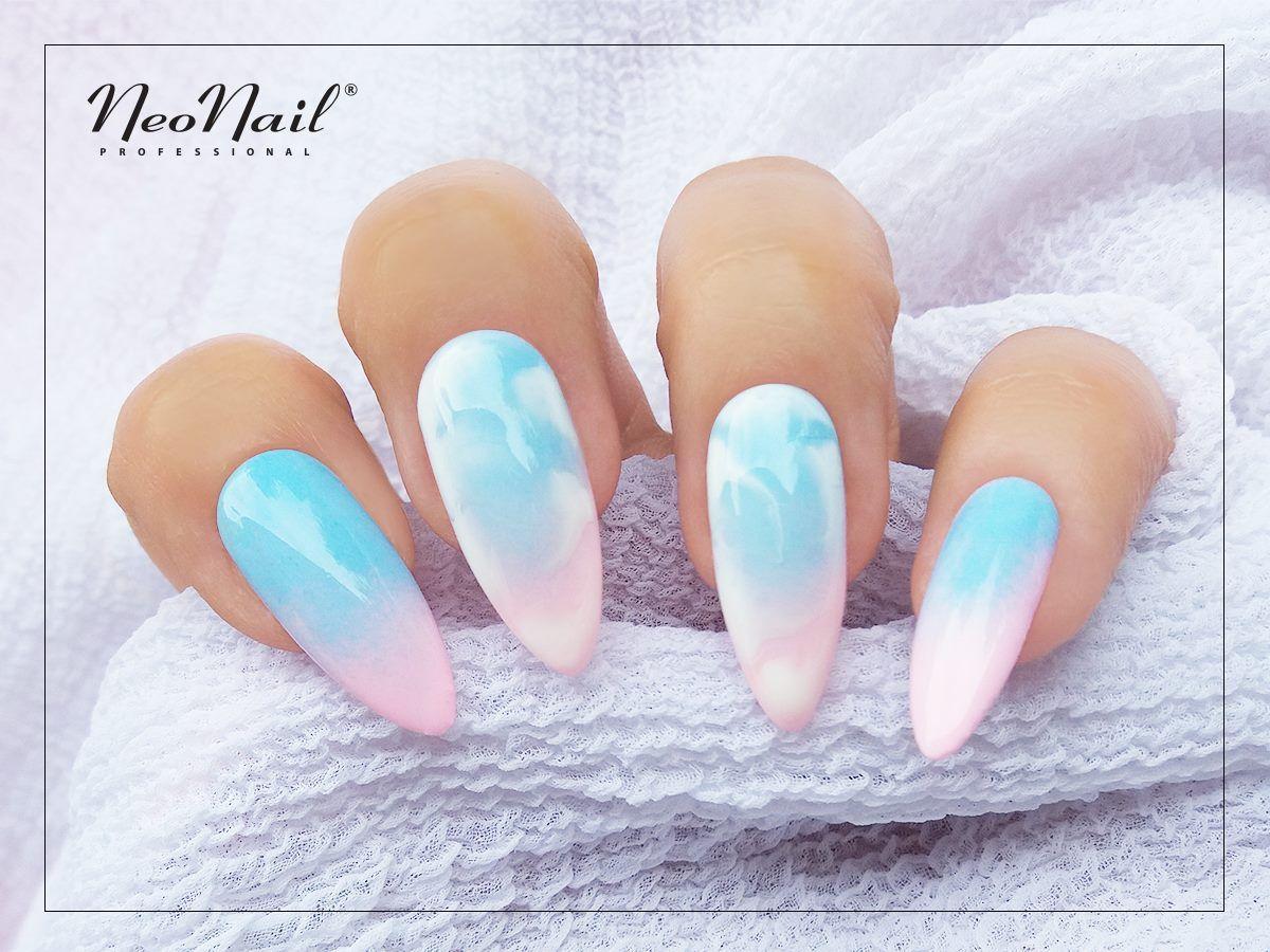 Sweet Pastel Nails Inspirations Light Blue Manicure Pink Pastel