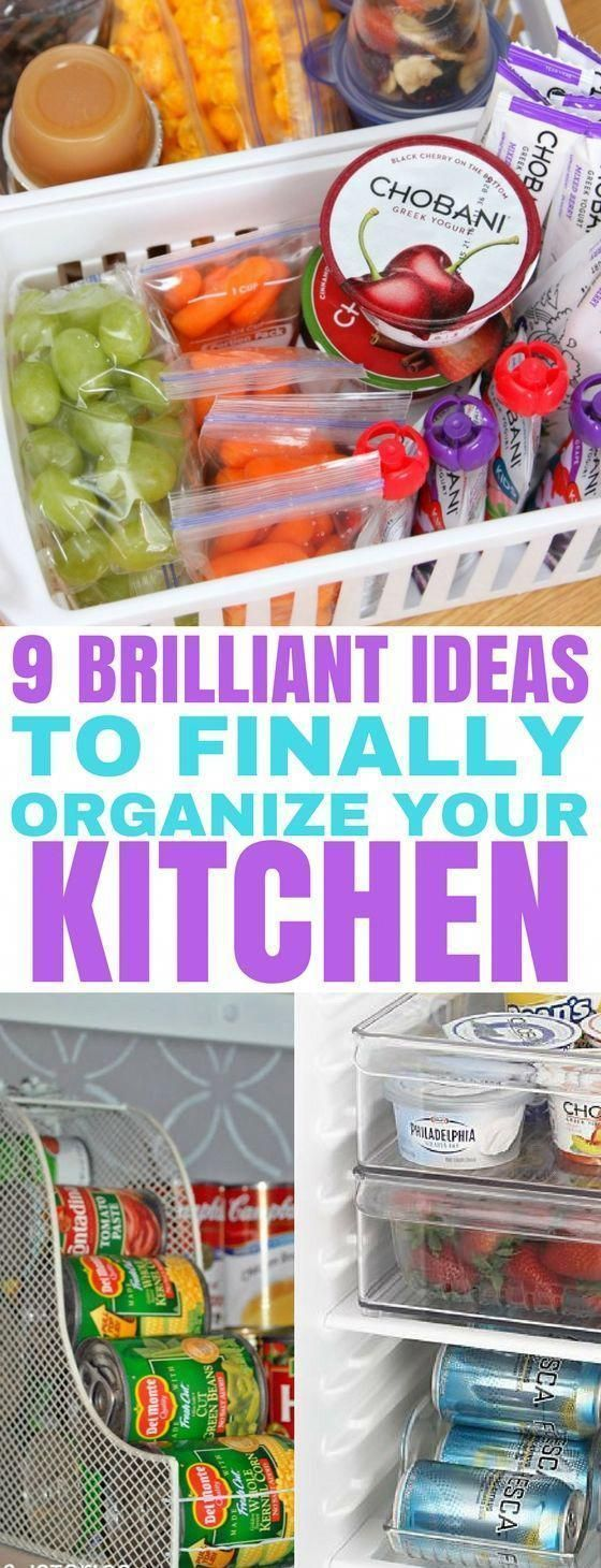 These kitchen organization ideas ar…