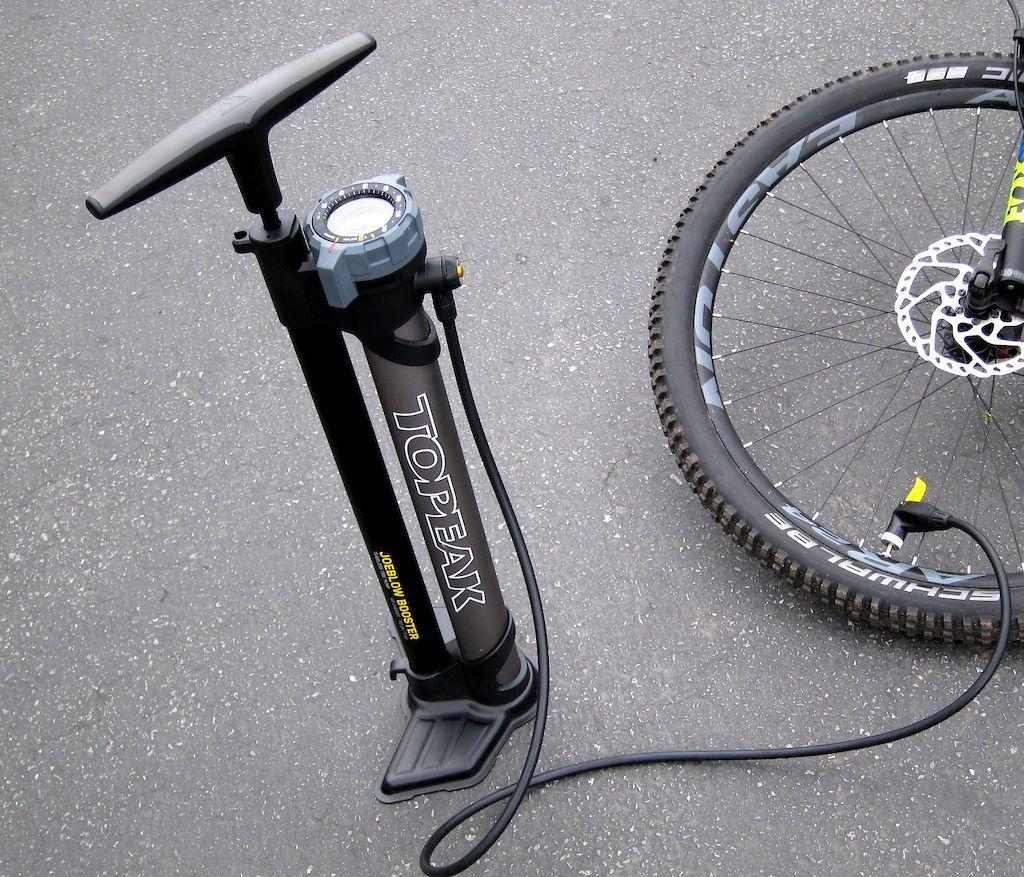 Topeak Joeblow Booster Review Bike Pump Pumps Boosters