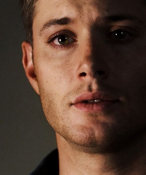 Dear God Almighty…..he's been taking puppy dog eye lessons from Sammy! <3 << And Cas! Have you seen Cas's puppy dog eyes?