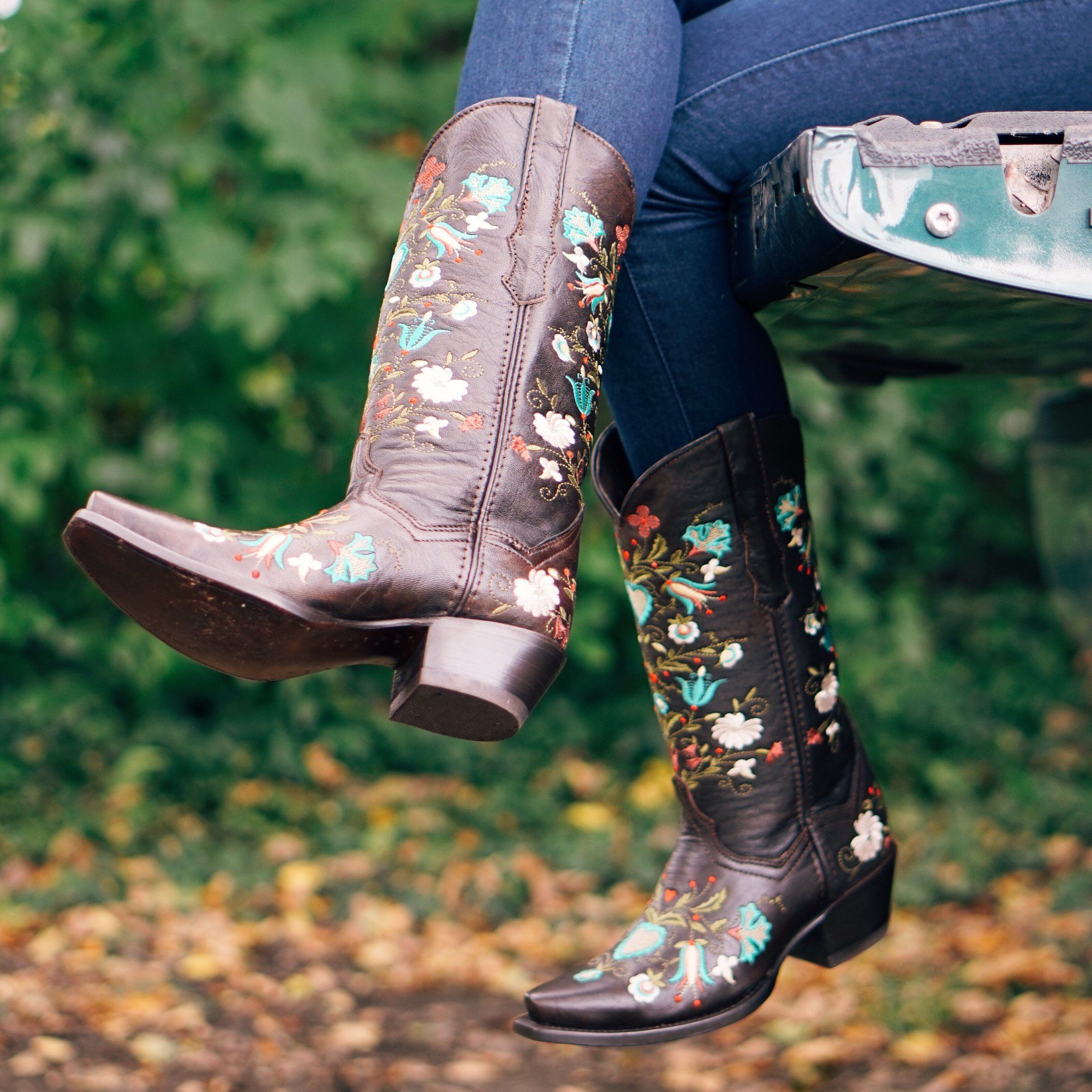 Wildflower Boots Floral Embroidered Cowgirl Boots M50030 Boots Womens Cowgirl Boots Cowgirl Boots