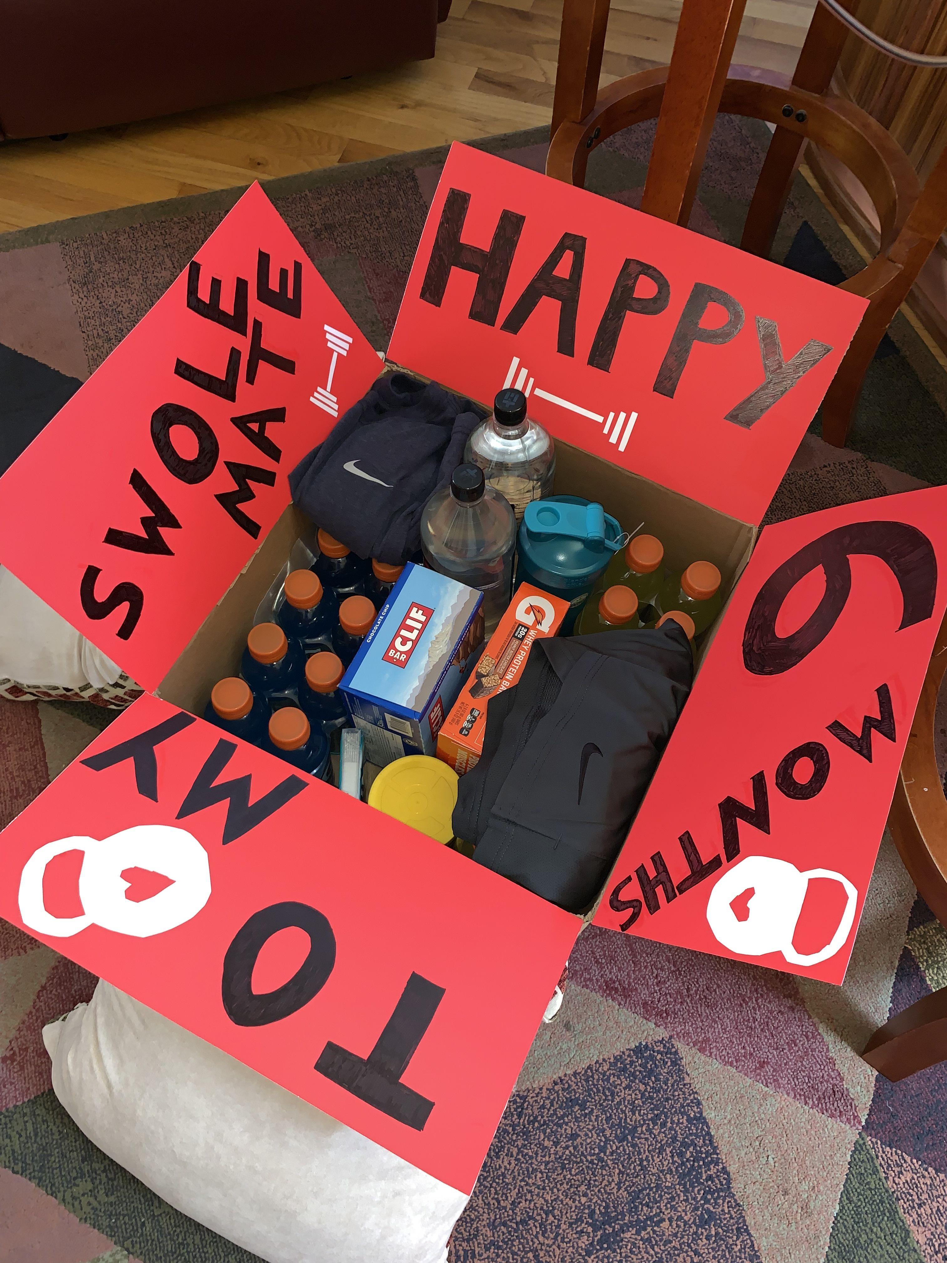6 month anniversary present idea for boyfriend who loves