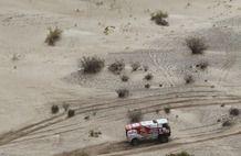 Dakar 2013, stage 11: La Rioja - Fiambala. Eurol VeKa MAN rally team