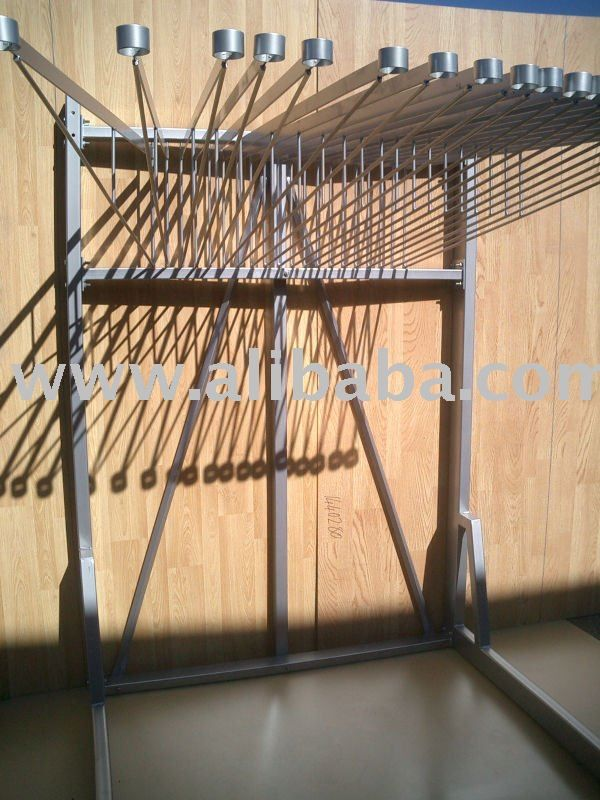 Rug Swing Arm Display Stand