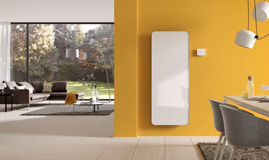 Solarstrom Effizient Zum Heizen Nutzen Mit Dem Kermi Designheizkorper Elveo Design Heizkorper Futuristisches Design Haustechnik