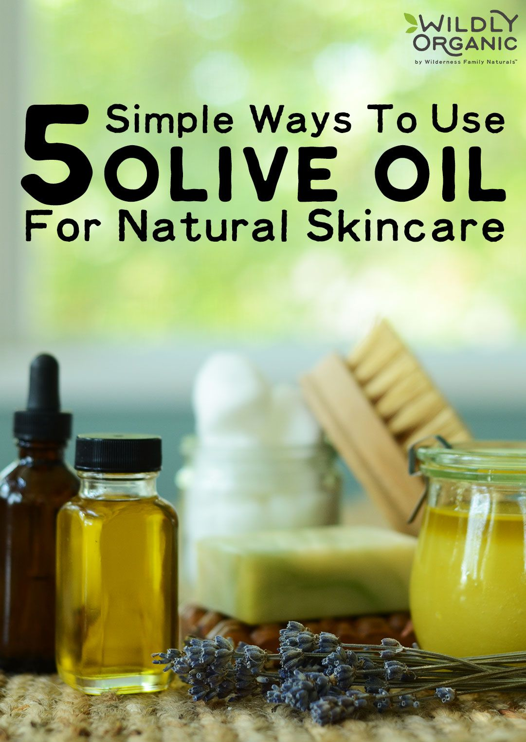 5 Simple Ways To Use Olive Oil For Natural Skincare