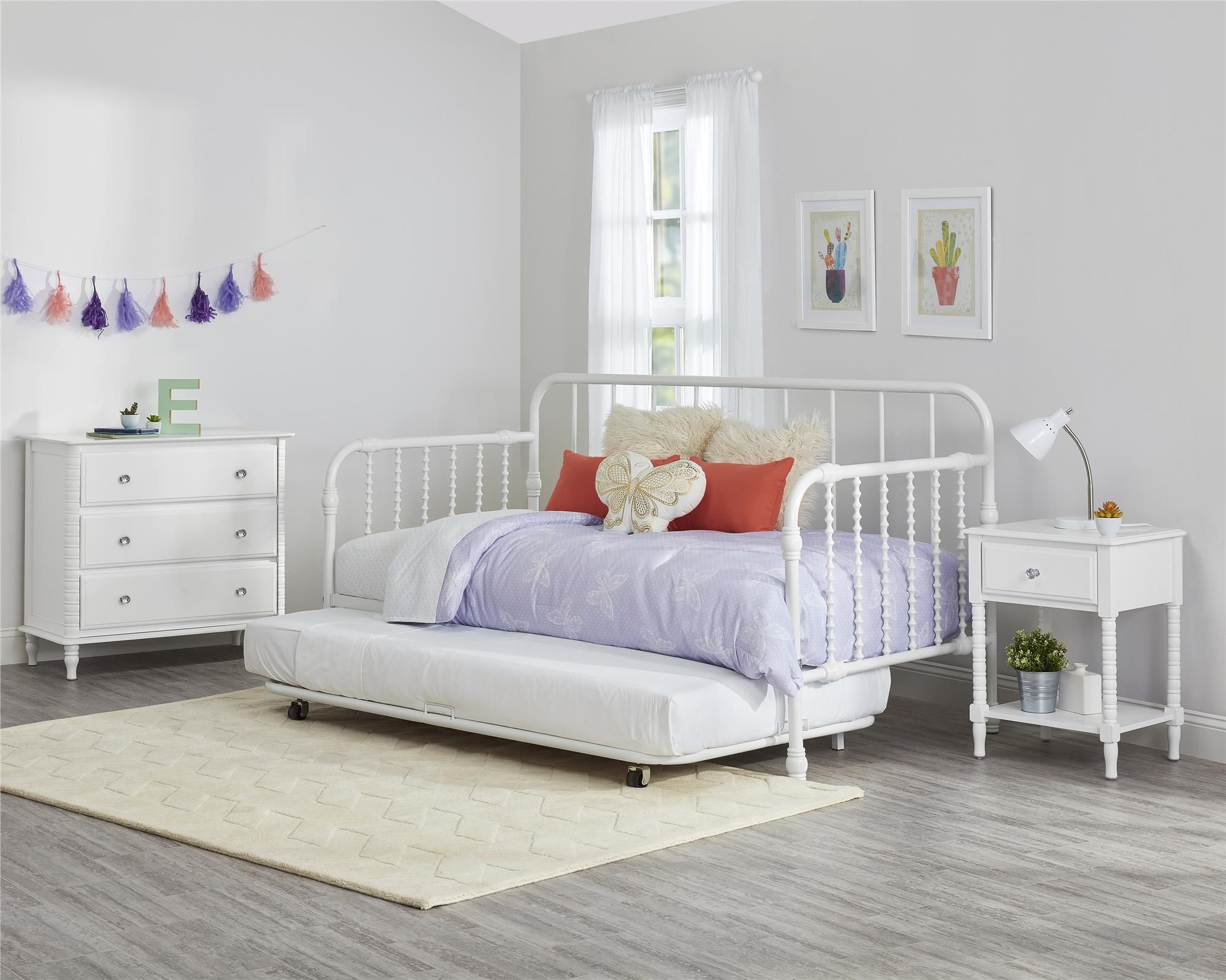 Home in 2020 Daybed with trundle, Twin daybed with