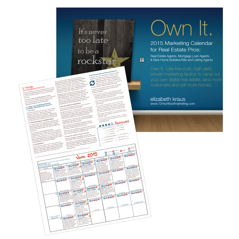 get ahead of the pack using the real estate marketing ideas laid out in the 2015