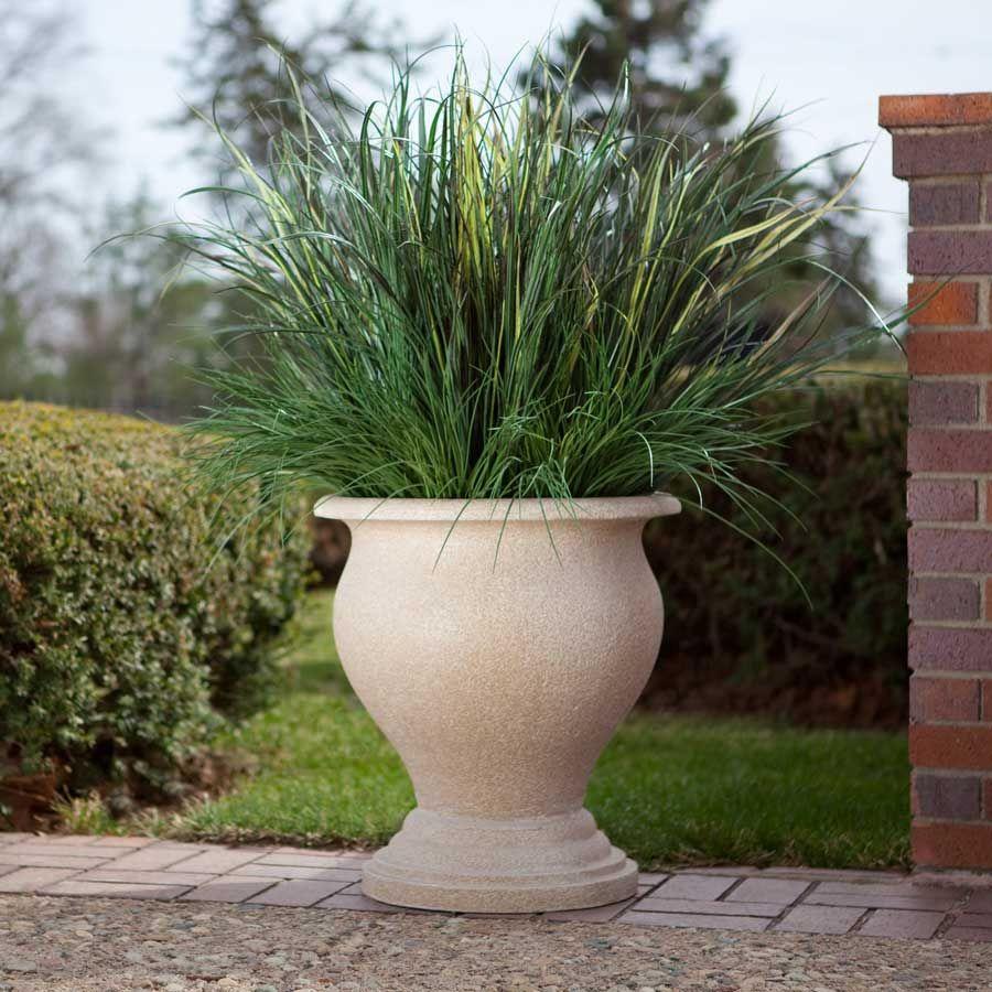 Beautifully Shaped Evergreens And Vivid Flower Arrangements In Earthen Pots Large Outdoor Planters Planter Pots Indoor Front Yard Garden Design