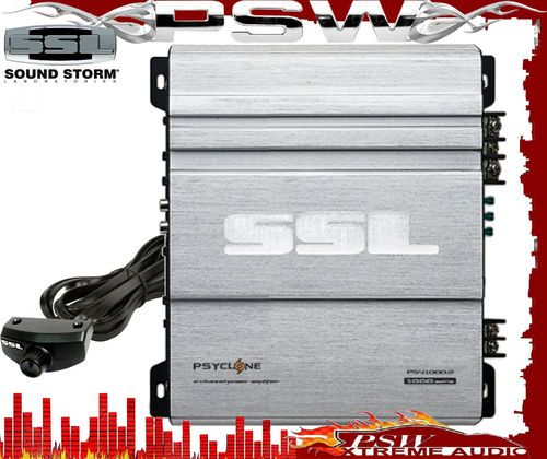 PSY1000.2 SOUNDSTORM PSYCLONE Series 2 Channel 1000/250 Watt Amplifier