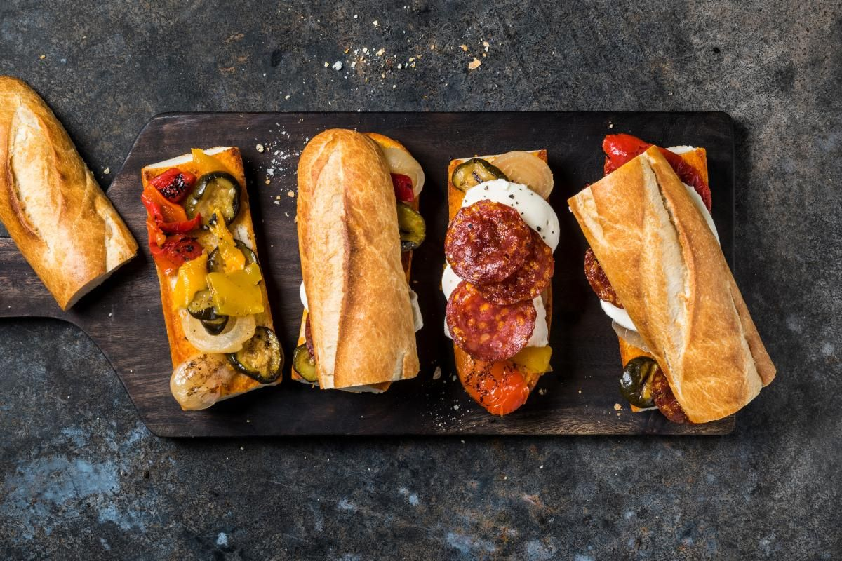 Antipasti Sandwich Rezept Rezepte Einfache Gerichte Hauptgericht