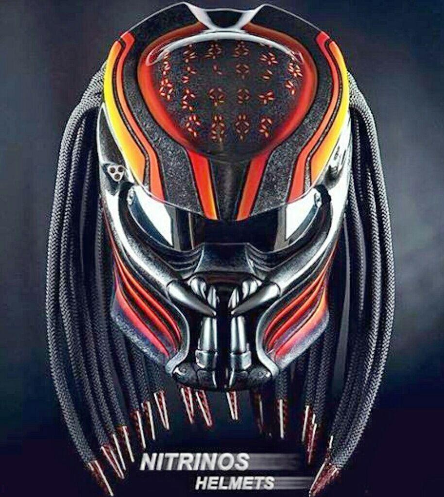 Predator+Motorcycle+Helmets+to+Enhance+Your+Road+Rage