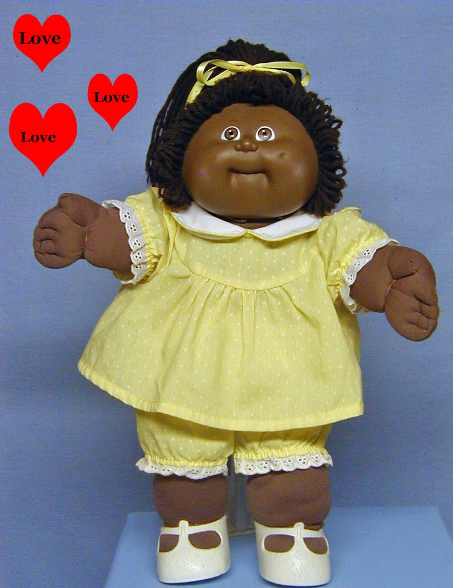 Cabbage Patch Kid Black Cpk Cabbage Patch Kids