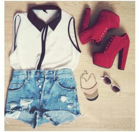 Rojo, blanco y negro