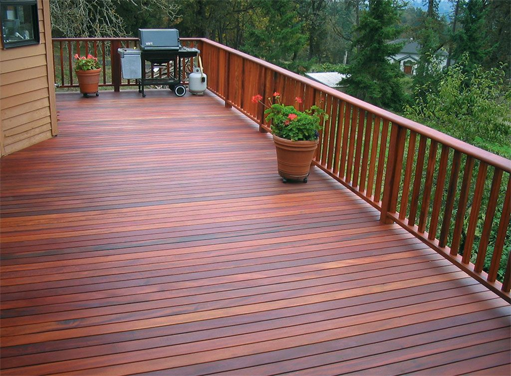 Nice Warm Color Staining Deck Decks And Porches Modern Deck