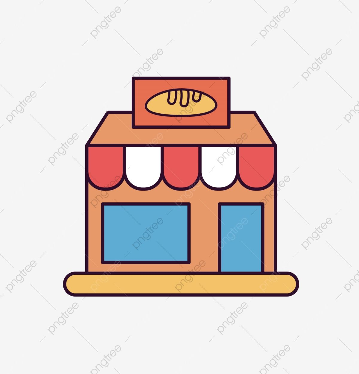 Bakery Vector Icon Material Bakery Icons Bakery Clipart Bakery Png And Vector With Transparent Background For Free Download Bakery Icon Bakery Business Cards Templates Bakery Business Cards