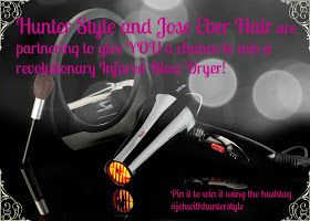 Hunter Style: ::Giveaway:: Jose Eber Infrared Blow Dryer  #jehwithhunterstyle@hunterstyle@joseeber