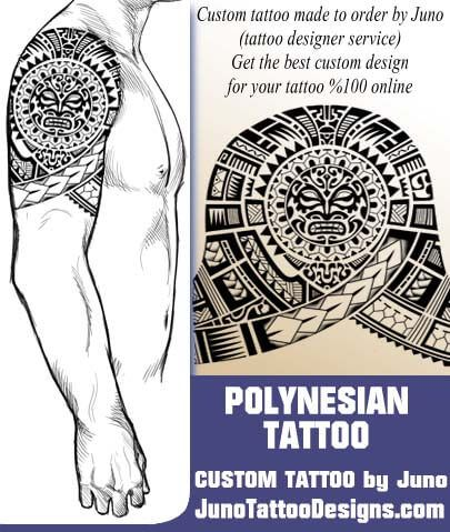 Tribal Polynesian Tattoo Tattoo Template The Rock Tattoo Stencil