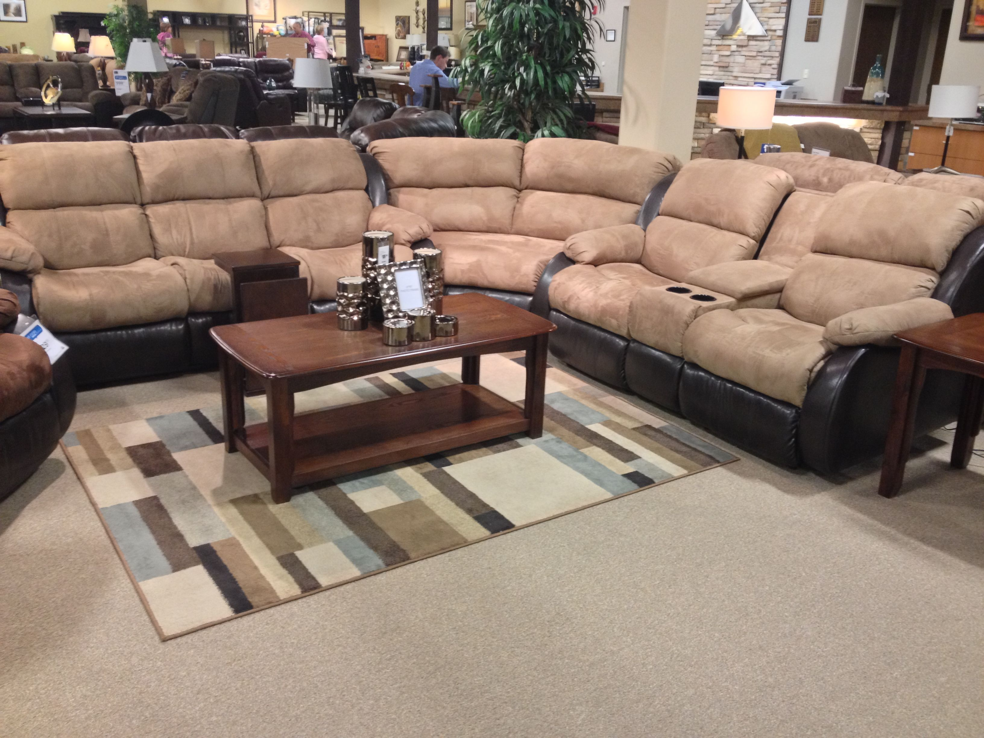 Presley Cocoa 3 Piece Sectional Sofa At Your Ashley Furniture