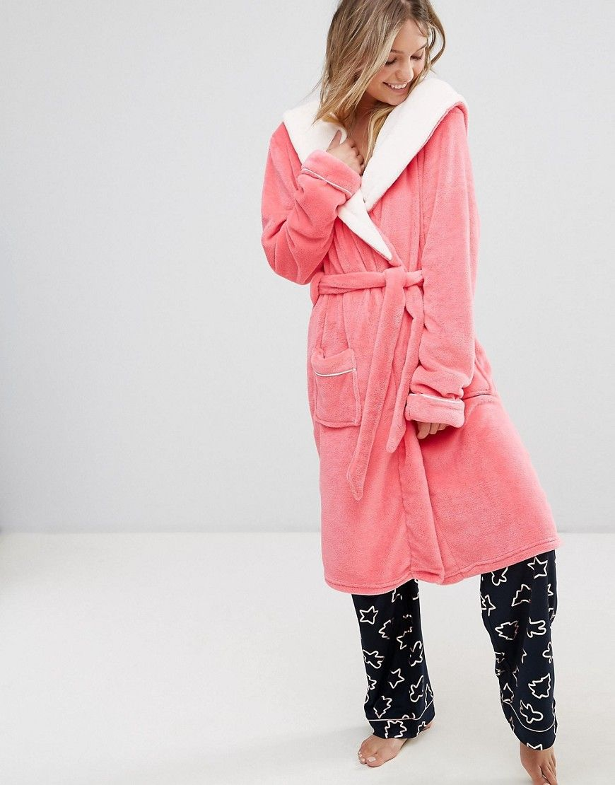 Chelsea Peers Pink Fluffy Robe Products Fluffy robe