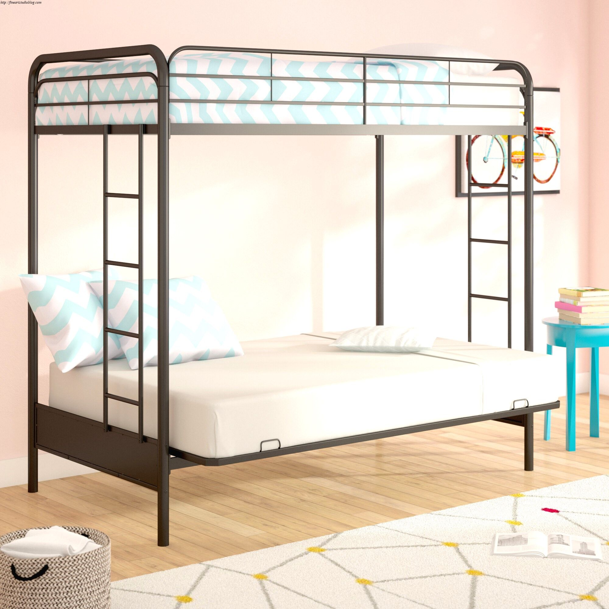 29 Incredible Twin Over Futon Bunk Bed With Mattress Included Feeling Twin bunk beds with mattress included