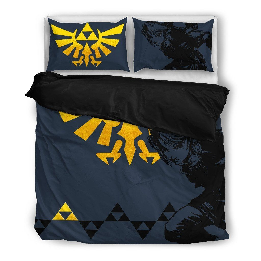 Zelda Bedding Set V1 Bedding Set Bed Legend Of Zelda