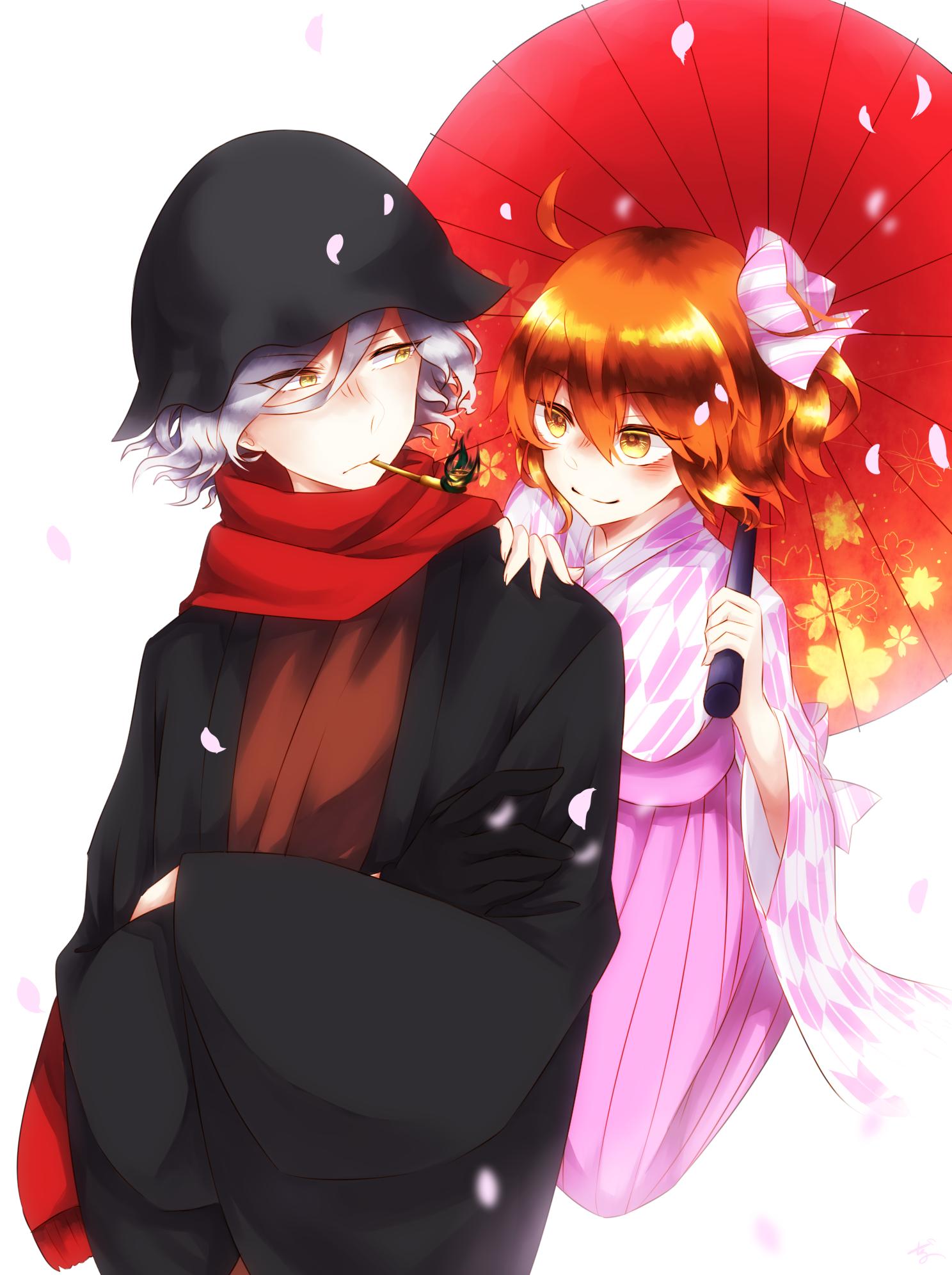 Gudako / Edmond Dantés【Fate/Grand Order】 Anime, Anime