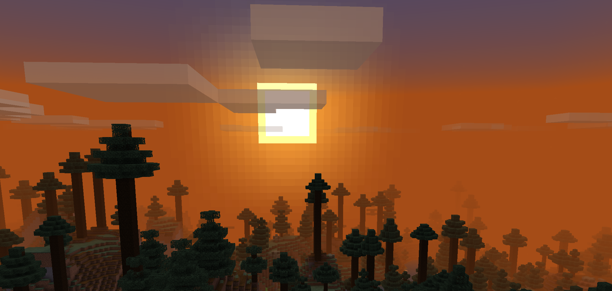 Minecraft Backgrounds Minecraft Wallpaper Background Sunset Background
