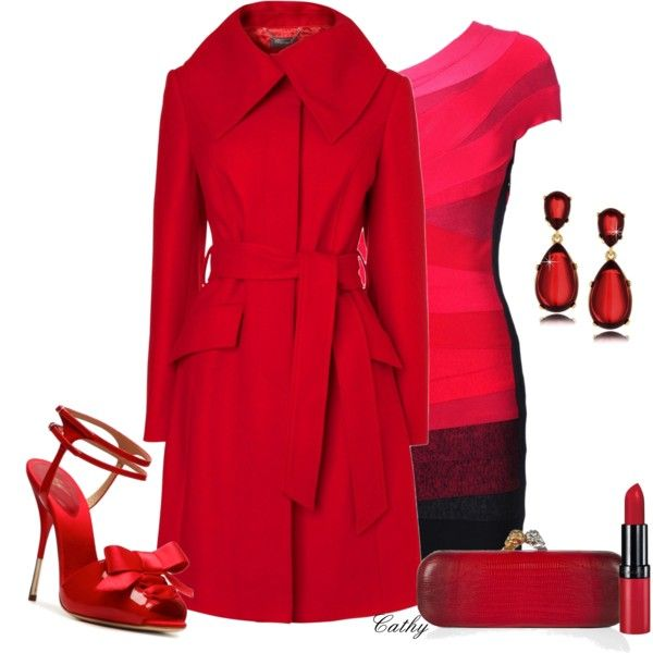 """""""Fire and Ice"""" by revccc on Polyvore"""