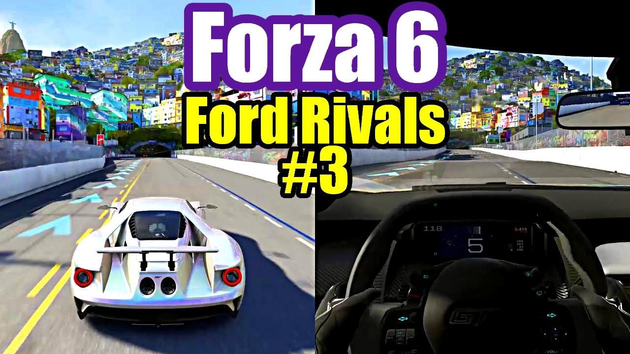 Forza Motorsport 6 3 Ford Gt Rivals Xbox One Gameplay With Images Forza Motorsport 6 Forza Motorsport