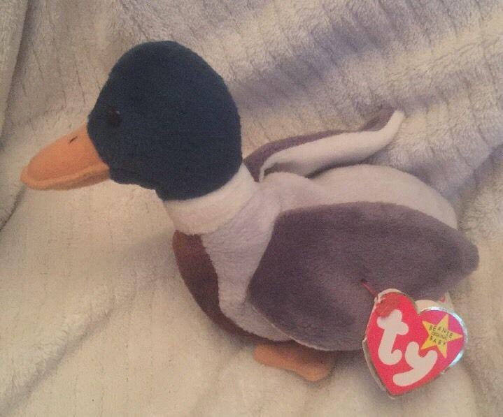 MWMT Duck 1997 Ty Beanie Baby Jake