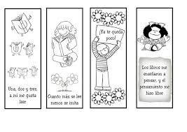 Resultado De Imagen Para Frases Por El Dia De La Biblioteca Escolar Separador De Libros Hacer Separadores De Libros Separadores De Libros Originales