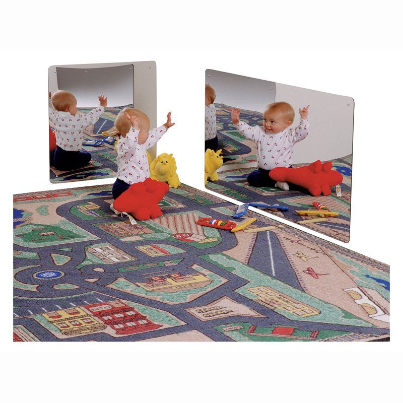 Kids Safe Frameless Acrylic Mirror Your Baby Or Toddler Will Love