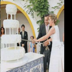 The Royal Forums - Duke of Anjou & Duchess of Cadaval wedding cake