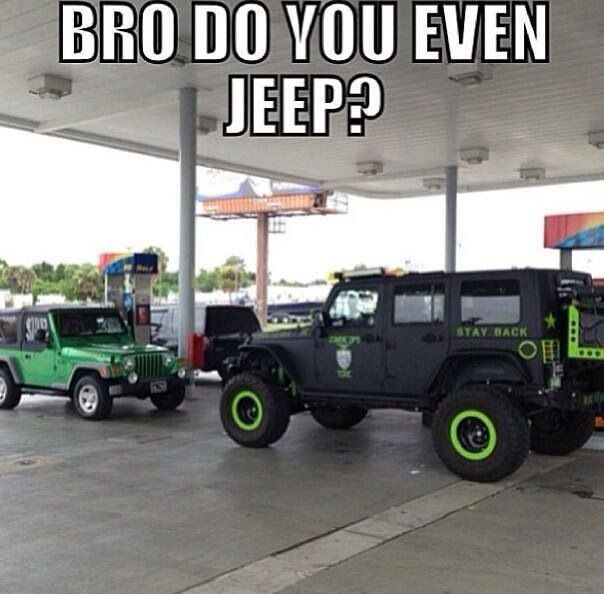Lol I Know Stock Jeeps Don T Get Much Credit But I Love My