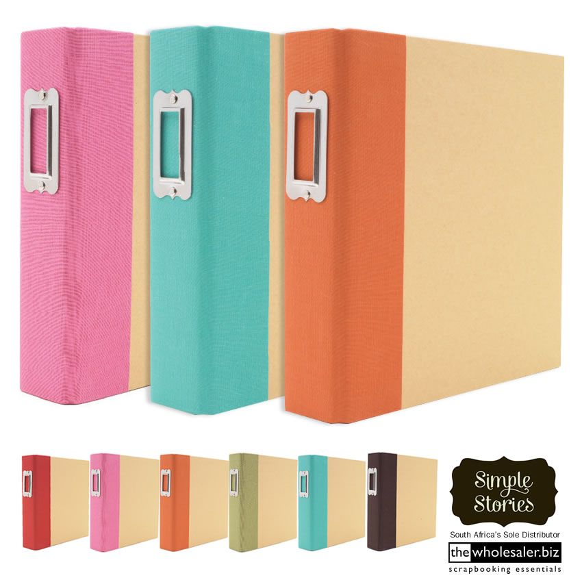Simple Stories Leather Albums & New Collections