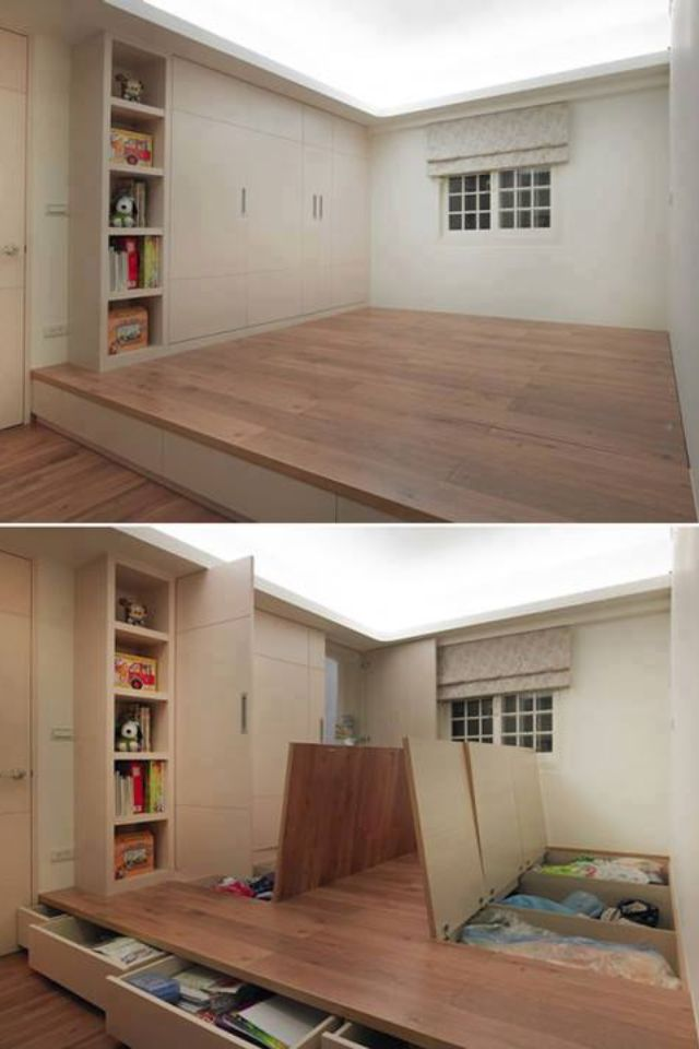 Turn Dead Space Above A Staircase Into A Playroom Home Small Spaces New Homes