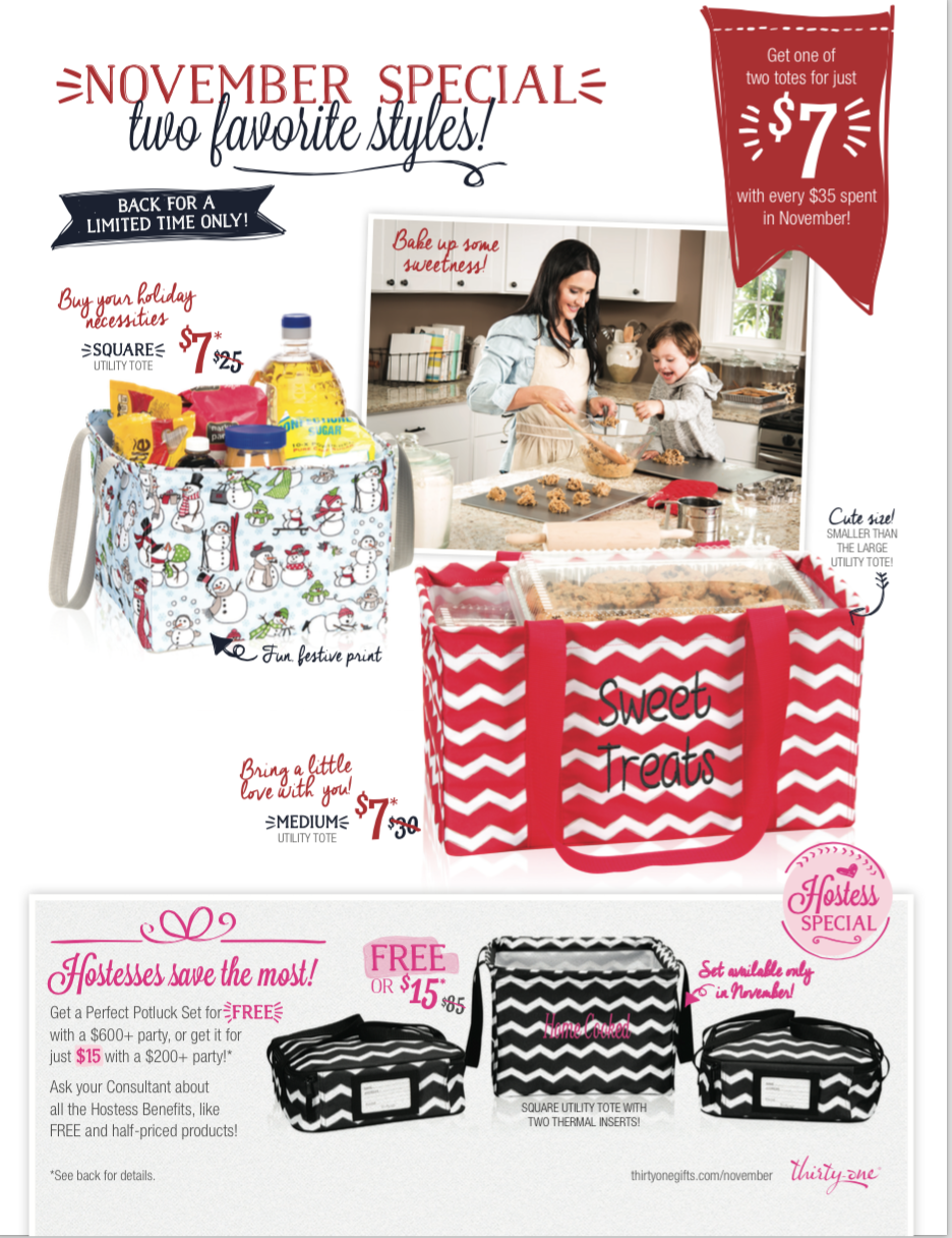 Thirty one november customer special 2014 - November Special Take Advantage Of This At Open House What A Great Teacher Gift My Thirty Onethirty