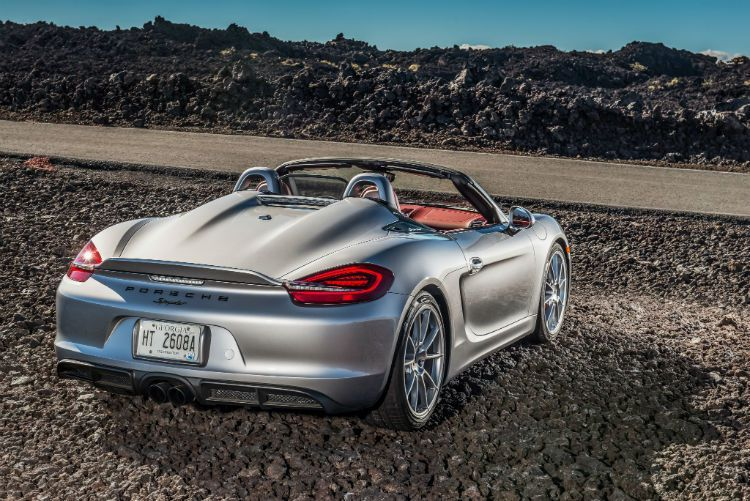 Porsche Boxster Spyder 2017