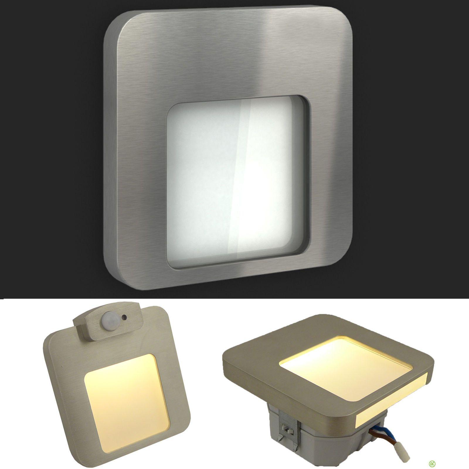 Perfect Details zu MOZA V Edelstahl LED Treppenbeleuchtung Wandbeleuchtung Bewegungssensor