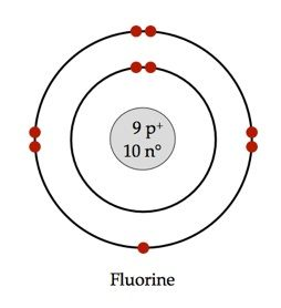 Bohr model of fluorine chemistry pinterest models chemistry bohr model of fluorine ccuart Gallery