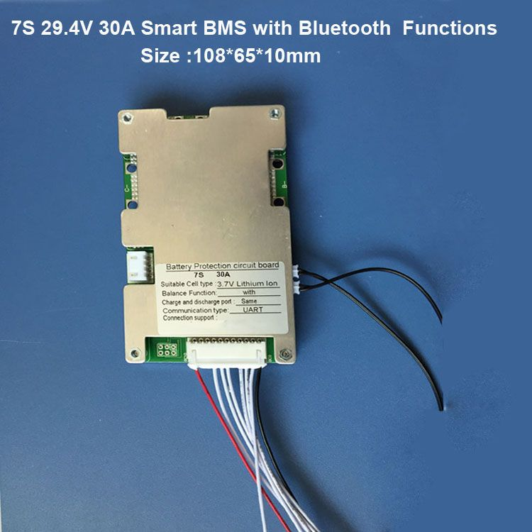 Best 8s Li Ion Bluetooth Smart Bms With 20a 30a 40a 60a Constant Current For 33 6v Or 29 6v Lithium Battery Pack With Battery Lithium Battery Constant Current