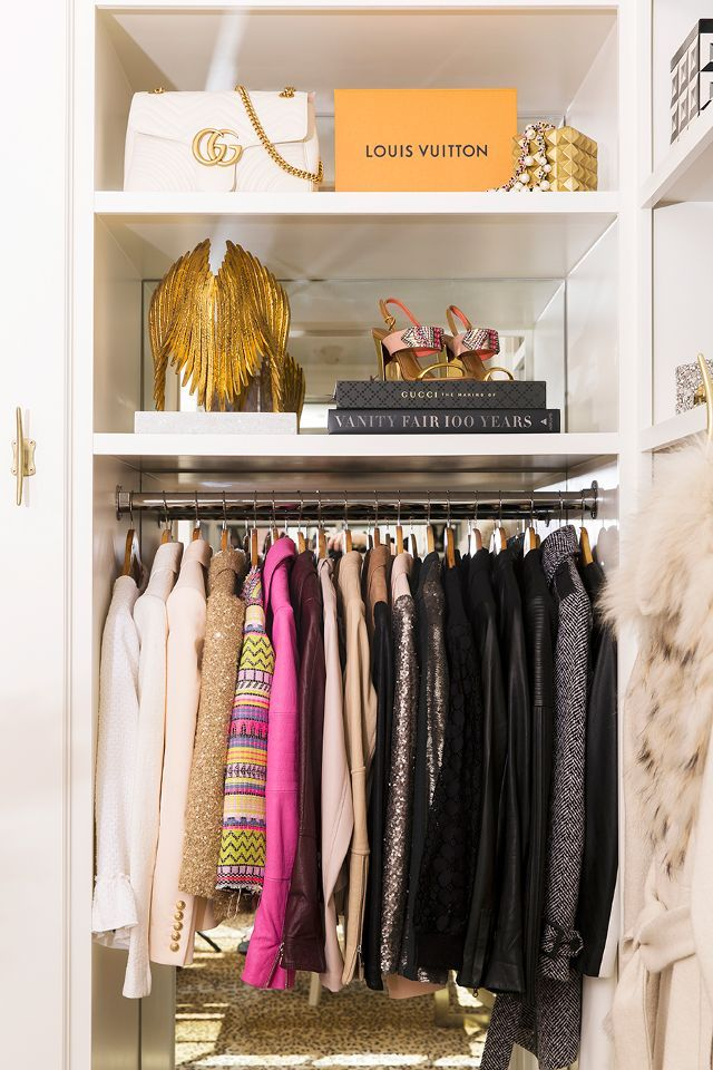 The Coolest Way To Show Off Your Shoe Collection At Home. Small Closets Organizations